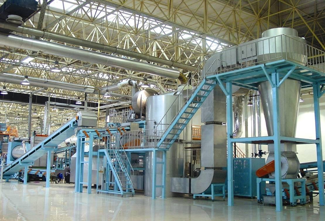 SH9型叶丝膨化干燥系统
